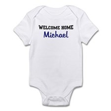 Welcome Home Michael Infant Bodysuit