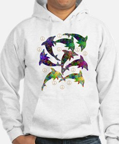 Dolphin Peace Group Hoodie
