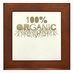 100% Organic Framed Tile