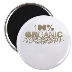 "100% Organic 2.25"" Magnet (100 pack)"