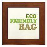 Eco Friendly Bag Framed Tile