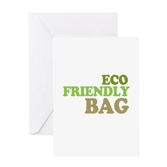 Eco Friendly Bag Greeting Card