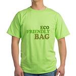 Eco Friendly Bag Green T-Shirt