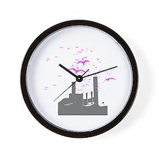 Bird Factory Wall Clock