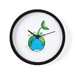 Earth Day T-shirts Wall Clock