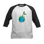 Earth Day T-shirts Kids Baseball Jersey