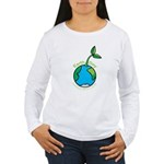 Earth Day T-shirts Women's Long Sleeve T-Shirt