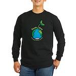 Earth Day T-shirts Long Sleeve Dark T-Shirt