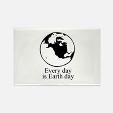 Every day is Earth Day Rectangle Magnet