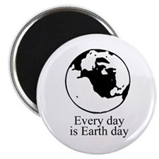 """Every day is Earth Day 2.25"""" Magnet (10 pack)"""