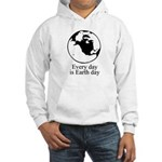 Every day is Earth Day Hooded Sweatshirt