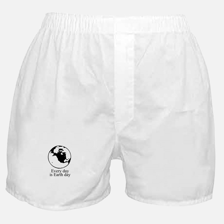 Every day is Earth Day Boxer Shorts