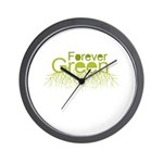 Forever Green Wall Clock