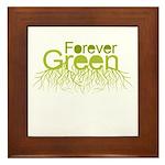 Forever Green Framed Tile