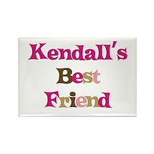 Kendall 's Best Friend Rectangle Magnet