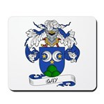 Gay Family Crest Mousepad