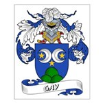 Gay Family Crest Small Poster