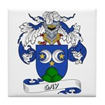 Gay Family Crest Tile Coaster