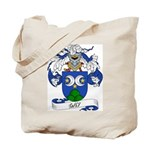 Gay Family Crest Tote Bag