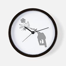 Biodiesel Bouquet Wall Clock