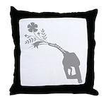 Biodiesel Bouquet Throw Pillow