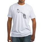 Biodiesel Bouquet Fitted T-Shirt