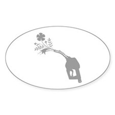 Biodiesel Bouquet Oval Decal