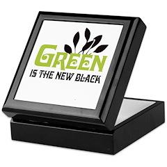 Green is the new black Keepsake Box