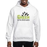 Green is the new black Hooded Sweatshirt