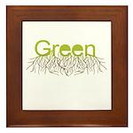 Green Framed Tile