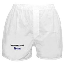 Welcome Home Beau Boxer Shorts