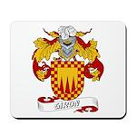 Giron Family Crest Mousepad