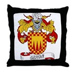 Giron Family Crest Throw Pillow