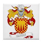 Giron Family Crest Tile Coaster