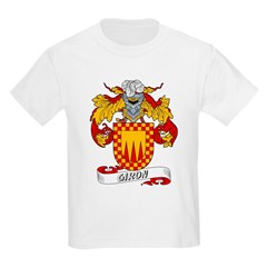 Giron Family Crest Kids T-Shirt