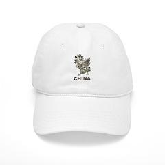 Vintage China Dragon Baseball Cap