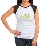 Go Green Women's Cap Sleeve T-Shirt