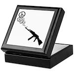Peace Gun Keepsake Box