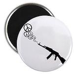Peace Gun Magnet