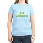 I recycle girlfriends Women's Light T-Shirt