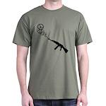 Peace Gun Dark T-Shirt