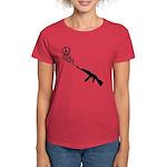 Peace Gun Women's Dark T-Shirt