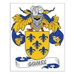 Gomez Family Crest Small Poster