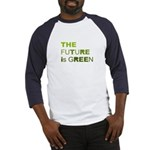 The Future is Green Baseball Jersey