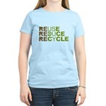 Reuse Reduce Recycle Women's Light T-Shirt