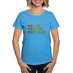 Reuse Reduce Recycle Women's Dark T-Shirt