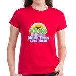 More Trees Less Bush Women's Dark T-Shirt