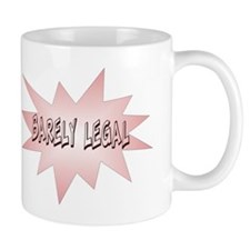 Barely Legal Small Mug