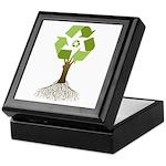 Recycling Tree Keepsake Box