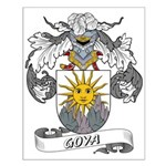 Goya Family Crest  Small Poster